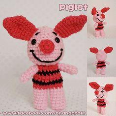 Ravelry: Mini Piglet pattern by ohana craft