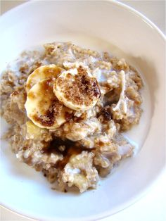 Banana Coconut Oatmeal.