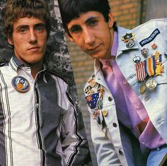 TWO WHO MEMBERS ROGER DALTREY & PETE TOWNSHEND