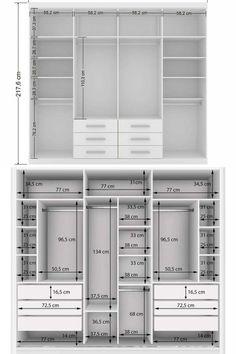 Wardrobe Design Bedroom, Bedroom Bed Design, Home Room Design, Bedroom Wardrobe, Smart Closet, Modern Closet, Bedroom Cupboard Designs, Bedroom Cupboards, Master Closet Design