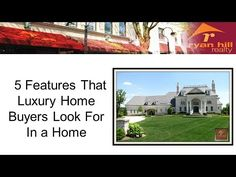 5 Features That Luxury Home Buyers Look For In a Home http://ryanhillrealty.tumblr.com/post/87286111396/how-to-boost-your-naperville-luxury-homes-resale-value http://www.ryanhillrealty.com/ - What to look for when looking for the perfect Naperville Luxury Home. If you're looking for a trusted REALTOR® to help with your Naperville luxury home for sale, or for any real-estate related concerns, call Teresa Ryan at 630-276-7575. Teresa Ryan is the owner/broker of Ryan Hill Realty.