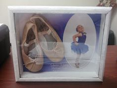 Ballet Slippers Shadow Box