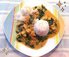 Rezept Chicken Saagwala - indisches Hähnchen von Milopita - Rezept der Kategorie Hauptgerichte mit Fleisch