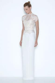 love this gorgeous gown! White Magick. Part.3. Collection Look Book. | LOVER®