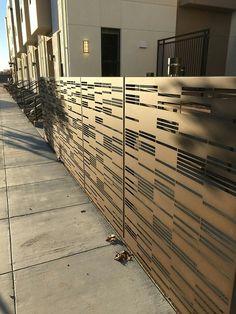 Bok Modern Privacy Screens Contemporary Security Fencing