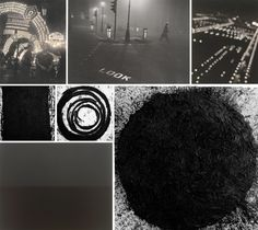 (post by John Hadeed, photo credits from left to right: Mulberry Street by Sid Grossman; London by Robert Frank; Impressions of Chicago—The Lights of Grant Park by Gordon H. Coster; Solid #13 by Richard Serra; September by Richard Serra; out-of-round X by Richard Serra; Ionian Sea, Santa Cesarea by Hiroshi Sugimoto.)
