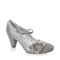 eshoesdirect The Home of Irregular Choice, Dr Martens and Toms Shoes | HEELS Ruby shoo Bridget pewter
