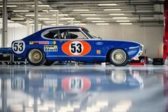 Private Collector - 1972 Ford Capri RS 2600 at the 2016 Silverstone Classic Media Day (Photo Bbs, Ford Capri, Ford Escort, Vintage Race Car, Top Cars, Rally Car, Courses, Fast Cars, Sport Cars