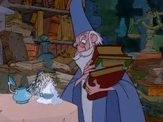 Disney animation: Sword in the stone