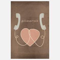 Fab.com | Pillow Talk Print 16x24