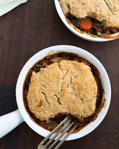 Vegetable Pot Pies | a Couple Cooks