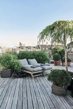 Une belle terrasse sur un toit ? Ça cest du lor dans une métropole !
