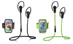 Jarv NMotion 4.0 Bluetooth Earbuds with Universal Sports Armband Deal of the Day | Groupon $29.99