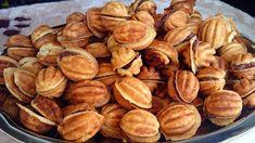 KokutkoweTonianie od kuchni: Orzeszki z nadzieniem Pretzel Bites, Biscuits, Almond, Snack Recipes, Chips, Sweets, Bread, Cookies, Health