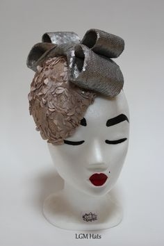 Irish Millinery from www.lgmhats.com perfect for a wedding or race day
