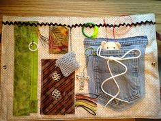 Susan's Quilt Creations: Alzheimer Fidget Fun Mats