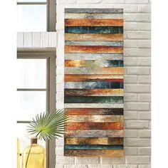Wall Sculptures | Find Great Art Gallery Deals Shopping at Overstock Signature Design By Ashley, Floral Wall Art, White Home Decor, Wall Sculptures, Wood And Metal, Wall Decor, Modern Wall Art, Trending Decor, Metal Wall Panel