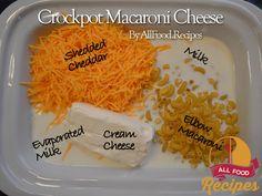 Homemade Crockpot Macaroni Cheese Recipe on Yummly. @yummly #recipe