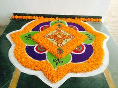Happy Diwali to all. Diwali Decorations, Flower Decorations, Wedding Decorations, Flower Rangoli, Floating Flowers, Flower Girl Basket, Happy Diwali, Rangoli Designs, Butterfly
