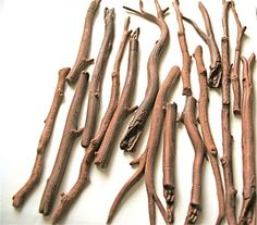 Edible Branches, Sticks and Twigs -Chocolate Flavor -200 -Confection Embellishment on Etsy, $514.00