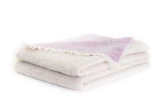 Gillian Weir Ltd. Reversible #Mohair #Blanket #Angora
