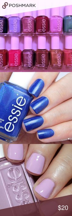 ESSIE Nail Polish Bundle! No Repeats! NEW! You will receive the following NEW/UNSEALED ESSIE Nail Polish Colors:  LOOT THE BOOTY #1166 BIKINI SO TEENY #764 WARM & TOASTY TURTLENECK #1048 MAKI ME HAPPY #1177 BAGUETTE ME NOT #1926 VIVA ANTIGUA! #1167 PLAYING KOI #1180 ECLAIR MY LOVE #1929 GIRLY GRUNGE #1938 MINK MUFFS #624 GETTING GROOVY #1885 OH BEHAVE! #1890  All New & Full Size ~ 0.46 Fl oz.  ADD ALL YOUR FAVS TO A BUNDLE OR SEND ME AN OFFER! THANK YOU! ESSIE Makeup