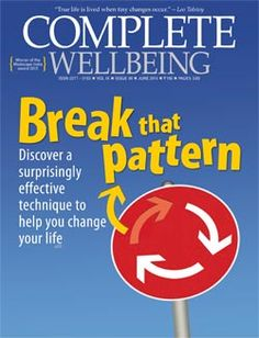 June 2015 issue: Break that pattern; change what's not working for you
