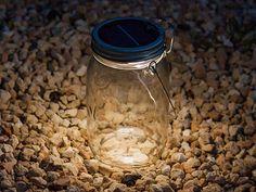 Mason Jar Solar Lights by Consol Solar Jar