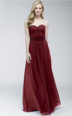 Sweetheart A-line Zipper Lovely 2014 Bridesmaid Dresses