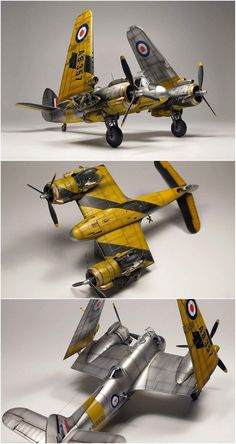 Aircraft models Scale Models, Bristol Beaufighter, Airfix Models, Experimental Aircraft, Aircraft Painting, Model Hobbies, Military Modelling, Military Diorama, Model Airplanes