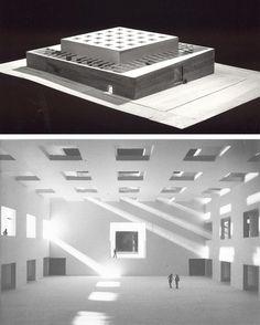 CULTURAL CENTER, MADRID - Alberto Campo baeza
