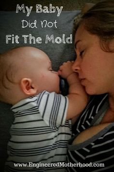 """Does your baby fit """"the mold?"""" Maybe there isn't a mold at all..."""
