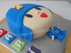"Cupcakes Factory... ""El Blog"": TARTA POCOYO / POCOYO CAKE Cake Pocoyo, Cupcake Factory, Cakes For Boys, Amazing Cakes, Cake Pops, 2nd Birthday, Fondant, Cake Decorating, Lucca"