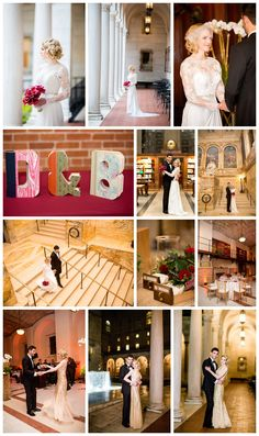 Red, white, and gold wedding color scheme - David Tutera Lace Long sleeve Wedding dress. Flowers by Table and Tulip - BKB & CO. Boston Wedding Venues, Massachusetts Wedding Venues, Gold Wedding Colors, Wedding Color Schemes, Bouquet Flowers, Red Flowers, Boston Public Library Wedding, David Tutera, Video Studio