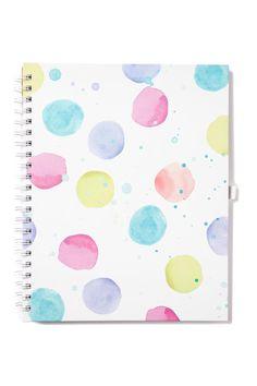 a4 collegiate notebook | Typo