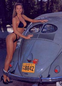 I just wanted a place for all the pictures of girls and VWs I've acquired. Pin Up Girls, Sexy Bikini, Bikini Girls, Kdf Wagen, Hot Vw, Bus Girl, Vw Vintage, Vw T1, Chevy Pickups
