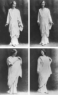 Isadora Duncan Storia della danza in pillole – La divina Isadora | Il padiglione d'oro