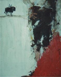 """""""La espera""""  oleo/tela  120x60"""