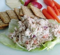 "Kim's Tuna Salad: ""The Triscuits made this out of the ordinary, and I loved the grated carrot, which I've never used in tuna salad before."" -Geema"