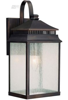 Capital Lighting 9111OB Sutter Creek Transitional Outdoor Wall Sconce CP-9111OB