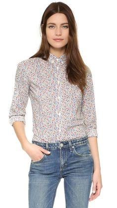 Penfield Eckert Floral Print Shirt