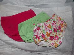3 pair of 6 months to 9 months diaper covers by KelleysKreationsLV, $14.95