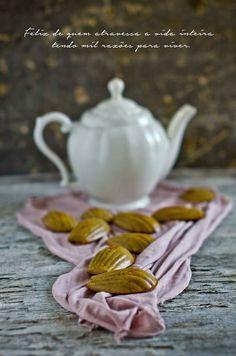 Marmita: Madalenas de laranja e mel de cana