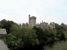Lismore Castle Skyline from Bridge across the River Blackwater
