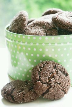Chokladcookies med salted caramel | Tessanbakar