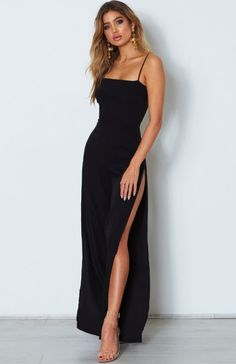 Style Fashion Tips Casual Sexy Sling Pure Color Wide Leg Jumpsuit. Fashion Tips Casual Sexy Sling Pure Color Wide Leg Jumpsuit. Prom Outfits, Grad Dresses, Mode Outfits, Ball Dresses, Formal Outfits, Dresses Dresses, Dresses Online, Wedding Dresses, Elegant Dresses
