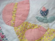 Darling Dutch Doll project quilt! Country by design; a fine tradition to you; in a quilt! Going for under $11; don't miss out; on Ebay today!