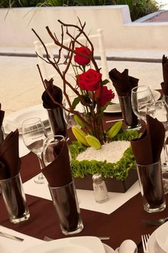 10 arreglos florales hermosos para decorar tu boda - Las Manualidades