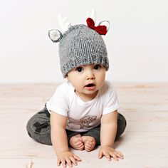 Baby Girl Deer Hat w