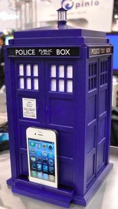 I found 'Speakers Doctor Who TARDIS' on Wish, check it out!